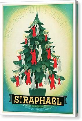 1937 - St. Raphael Aperitif Advertisement - Color Canvas Print