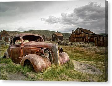 1937 Chevrolet Coupe @ Bodie Canvas Print by Chris Frost