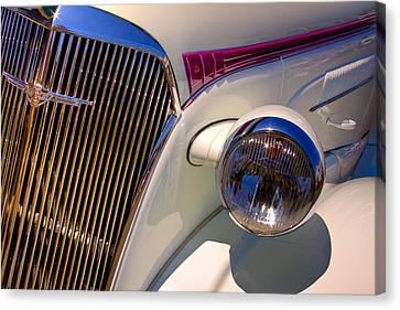 1937 Chevy 4 Door Sedan Canvas Print by David Patterson