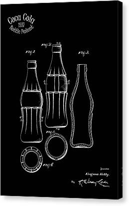 1937 Coca Cola Bottle Canvas Print by Mark Rogan
