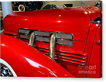 1937 Cord 812 Supercharged Phaeton Canvas Print by Paul Ward