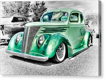 1937 Ford Coupe Canvas Print