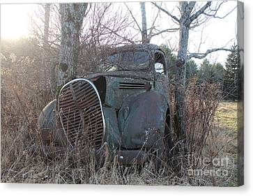 1938-39 Ford Truck 3 Canvas Print by Joseph Marquis
