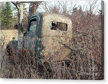 1938-39 Ford Truck 4 Canvas Print by Joseph Marquis