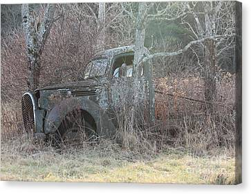 1938-39 Ford Truck 5 Canvas Print by Joseph Marquis