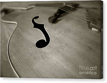 1938 Acoustic Archtop Canvas Print