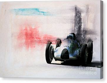 1938 Auto Union Type D Canvas Print