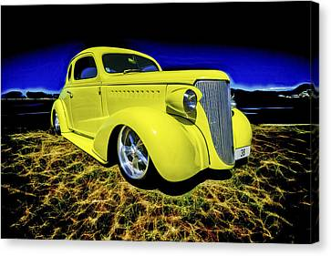1938 Chevrolet Coupe Canvas Print by motography aka Phil Clark