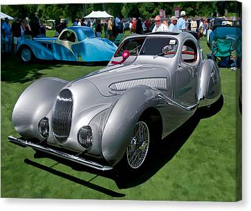 1938 Darracq/talbot Lago T150c Canvas Print by James Howe