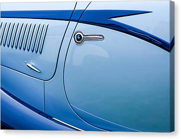 1938 Talbot-lago 150c Ss Figoni And Falaschi Cabriolet Side Door Handle Canvas Print by Jill Reger
