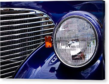 Chevy Coupe Canvas Print - 1939 Chevrolet Coupe by David Patterson