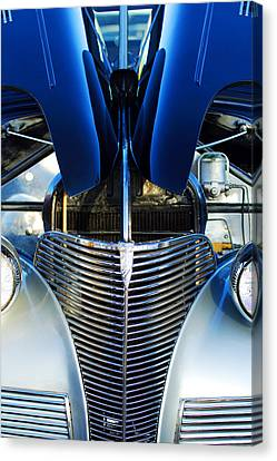 1939 Chevrolet Coupe Grille -115c Canvas Print by Jill Reger
