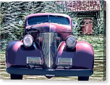 1939 Chevy Immenent Front Original Canvas Print