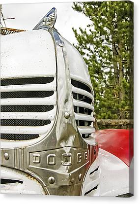 1939 Dodge Truck Grill Canvas Print
