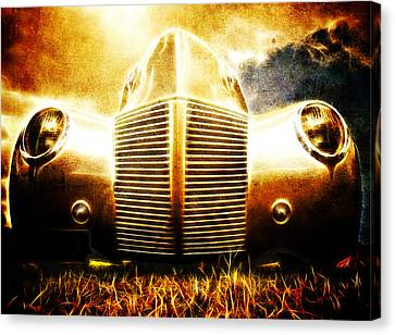 1939 Ford Roadster Canvas Print by Phil 'motography' Clark