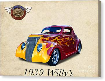 1939 Willy's Canvas Print by Jim  Hatch