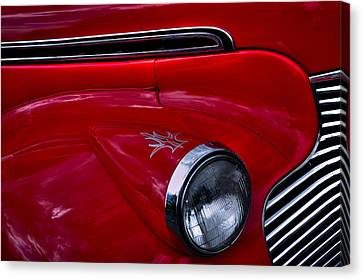 Chevy Coupe Canvas Print - 1940 Chevy Coupe by David Patterson
