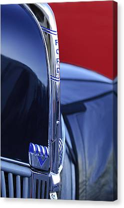 1940 Ford Hood Ornament 2 Canvas Print
