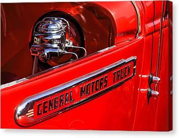 Gmc Canvas Print - 1940 Gmc Pickup Truck by Jill Reger