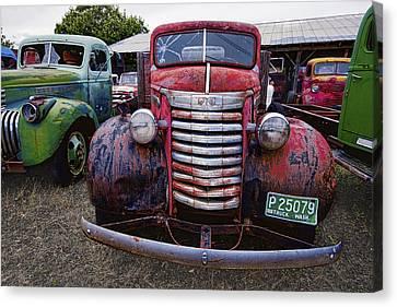 1940s G M C Truck Canvas Print