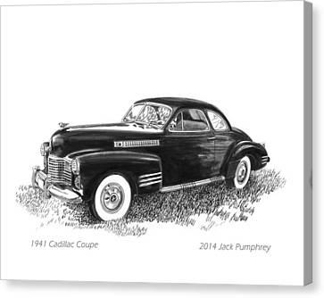 1941 Cadillac 62 Coupe Canvas Print