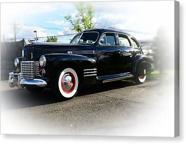 1941 Cadillac Coupe Canvas Print by Paul Ward
