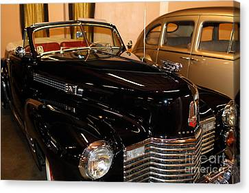 1941 Cadillac Series 62 Convertible Coupe Canvas Print - 1941 Cadillac Series 62 Convertible Coupe 5d25734 by Wingsdomain Art and Photography