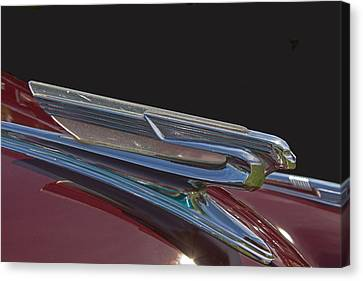 1941 Chevrolet Hood Ornament Canvas Print by Nick Gray