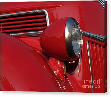 1941 Ford Flatbed Pickup Canvas Print by Anna Lisa Yoder