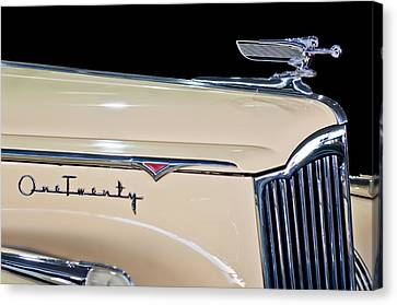 1941 Packard Hood Ornament Canvas Print by Jill Reger