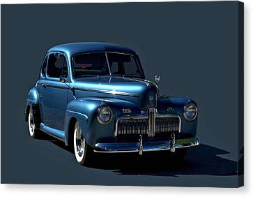 Canvas Print featuring the photograph 1942 Ford Coupe by Tim McCullough