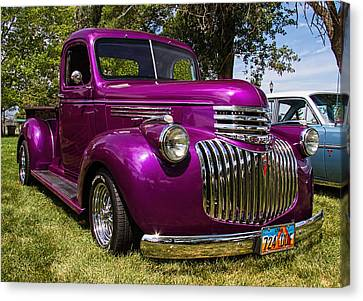 1946 Chevrolet Pickup Truck Canvas Print by Nick Gray
