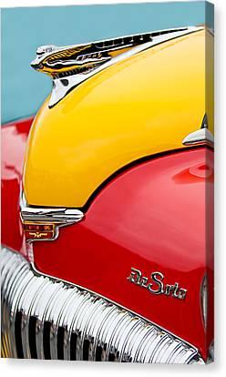 1946 Desoto Skyview Taxi Cab Hood Ornament Canvas Print