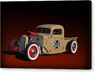 1946 Ford Hot Rod Pickup Canvas Print