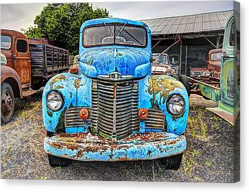 1946 International Harvester Truck Canvas Print by Daniel Hagerman