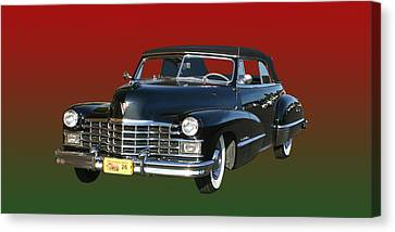 1947 Cadillac Sixty Two Convertible Canvas Print by Jack Pumphrey