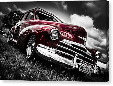 1947 Chevrolet Stylemaster Canvas Print by motography aka Phil Clark