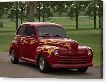 1947 Ford Sedan Hot Rod Canvas Print by Tim McCullough