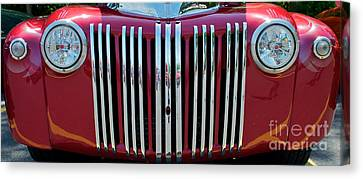 1947 Ford Truck Grill Canvas Print by Mark Dodd