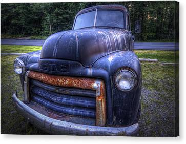 1947 Gmc Canvas Print by Eric Gendron