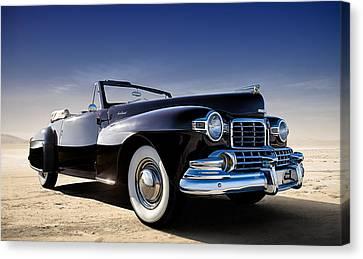1947 Lincoln Continental Canvas Print by Douglas Pittman