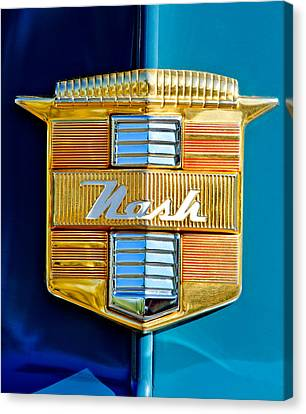 1947 Nash Suburban Emblem Canvas Print by Jill Reger