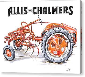 1948 Allis Chalmers-g Canvas Print