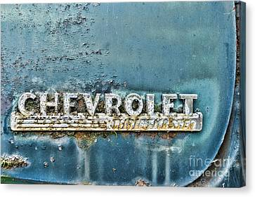 1948 Chevrolet Thrift Master Canvas Print by Paul Ward