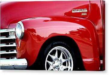 1948 Chevy Thriftmaster 3100 Canvas Print