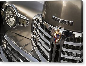 1948 Lincoln Canvas Print by Dennis Hedberg
