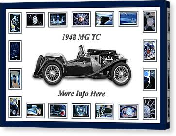 1948 Mg Tc Canvas Print by Jill Reger