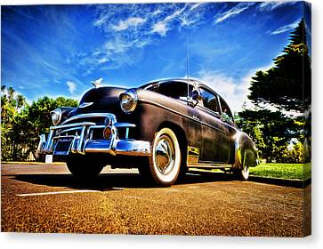 1949 Chevrolet Deluxe Canvas Print