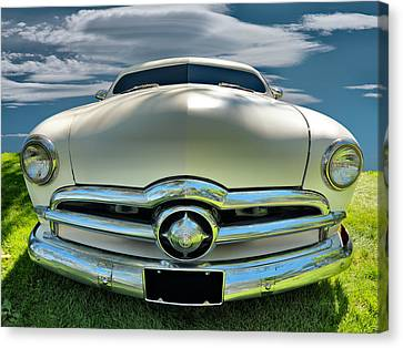 1949 Ford Club Coupe Canvas Print by Leland D Howard