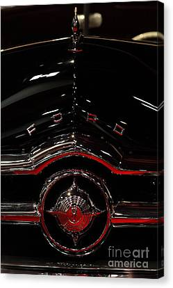 1949 Ford Custom Convertible Coupe - 5d20082 Canvas Print by Wingsdomain Art and Photography